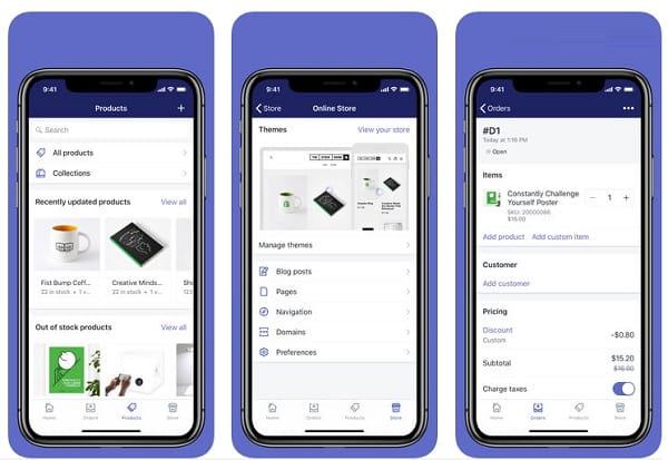 Shopify iOS App