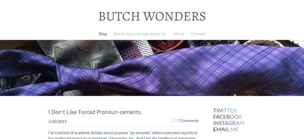 Butch Wonders