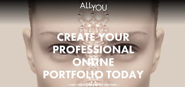 Allyou - Online Portfolio Website Builder