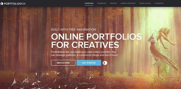 Portfoliobox website bulder