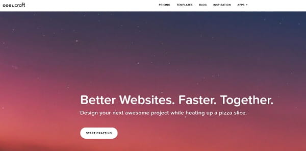 Ucraft website builder