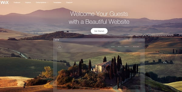 Wix Small Business Website Builder