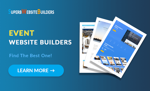 best event website builders