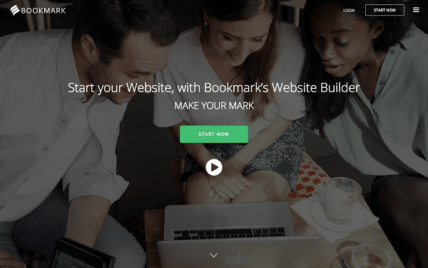 Bookmark website builder