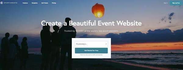 EventCreate Website Builder