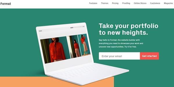 Fromat website builder
