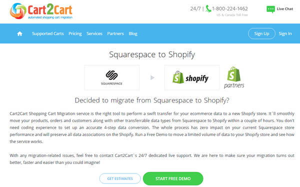 Squarespace To Shopify
