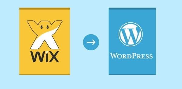 Transfer Wix to WordPress