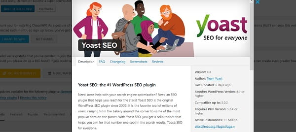 WordPress 5.0 SEO