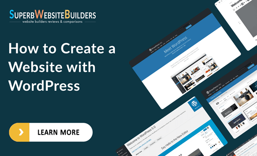how to create a website with wordress