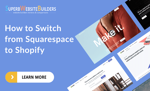 how to switch from squarespace to shopify