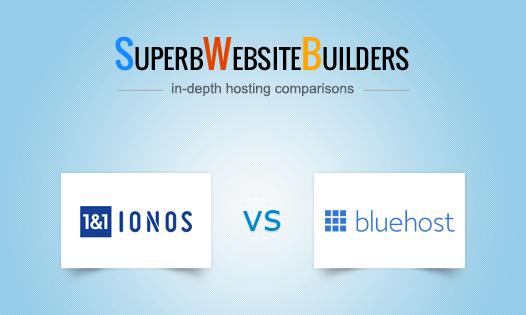 1&1 ionos vs bluehost