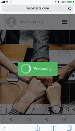 Webstarts Mobile Editor