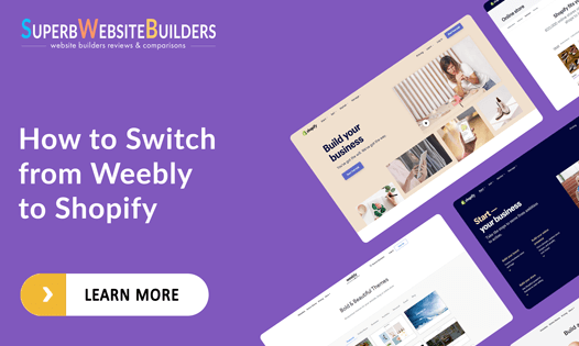 how to switch from weebly to shopify