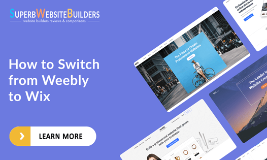 how to switch from weebly to wix