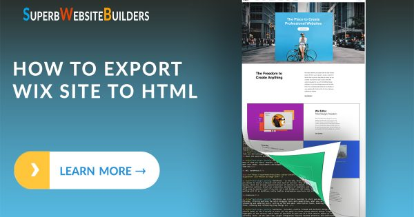 How to Export Wix Site to HTML