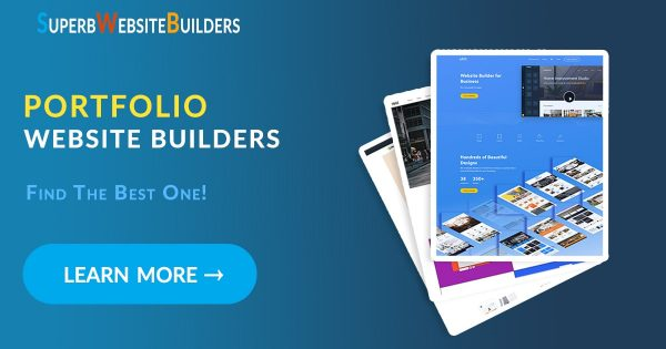 portfolio website builders