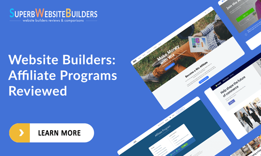 website builders best affiliate and partner programs reviewed