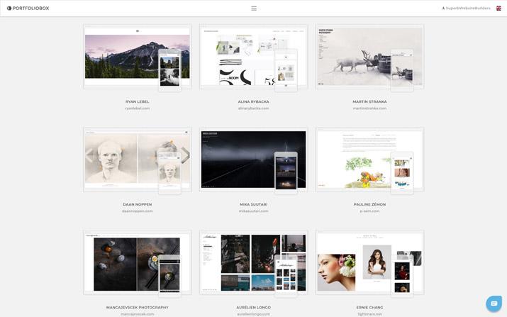 portfoliobox examples