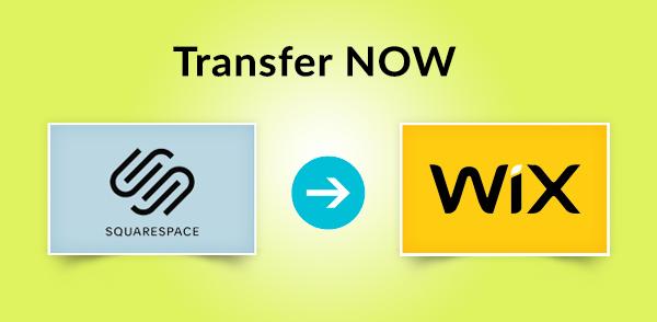 Transfer Squarespace to Wix
