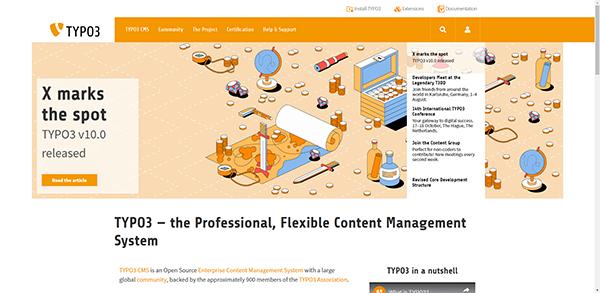 TYPO3 - Professional & Flexible Open Source CMS