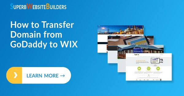 How to Transfer Domain from GoDaddy to Wix