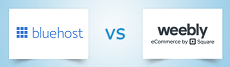 Bluehost vs Weebly