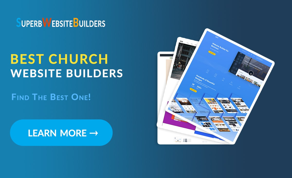 Best Church Website Builders Top Platforms To Create A Church Website For Free