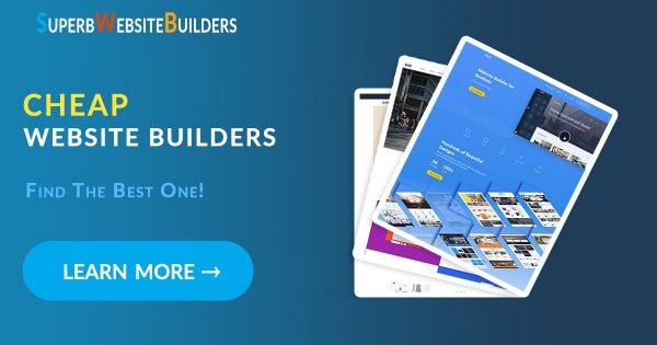 Cheap Website Builders