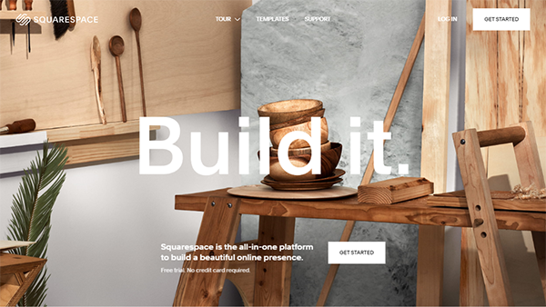 Squarespace – Website Builder with Shopping Cart