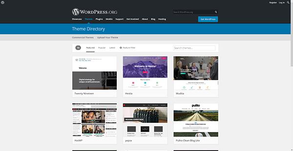 WordPress Website Templates
