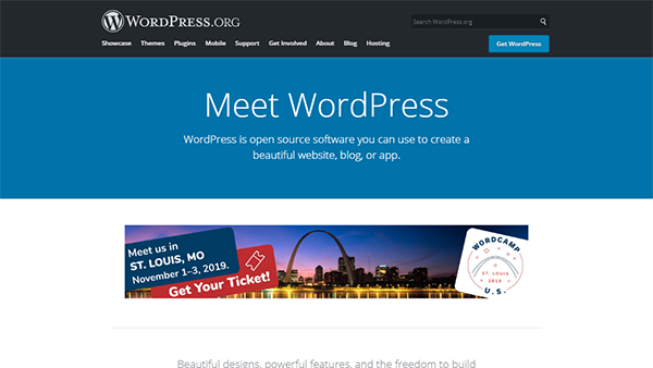 WordPress - CMS #1 for Any Non-Profit Website