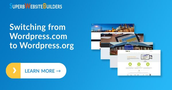 Switching from Wordpress.com to Wordpress.org