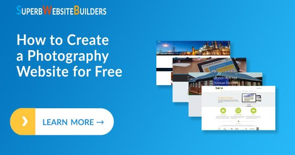 How to Create a Photography Website for Free
