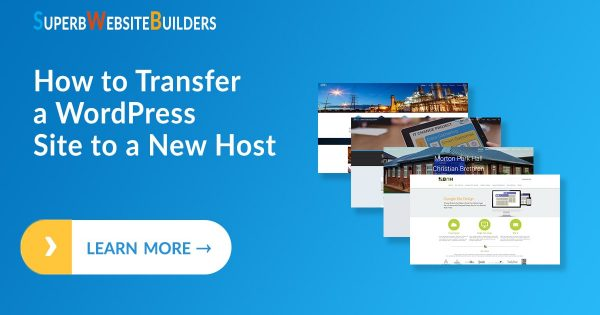 How to Transfer a Wordpress Site to a New Host
