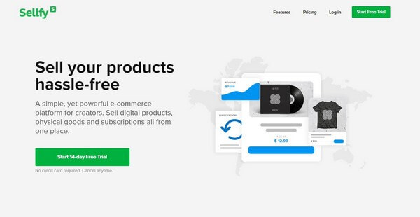 Sellfy - Cheap eCommerce Platform for Creators
