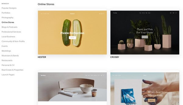 Squarespace: Step 3