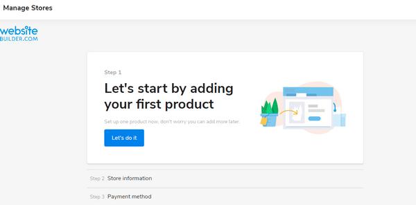 WebsiteBuilder ecommerce