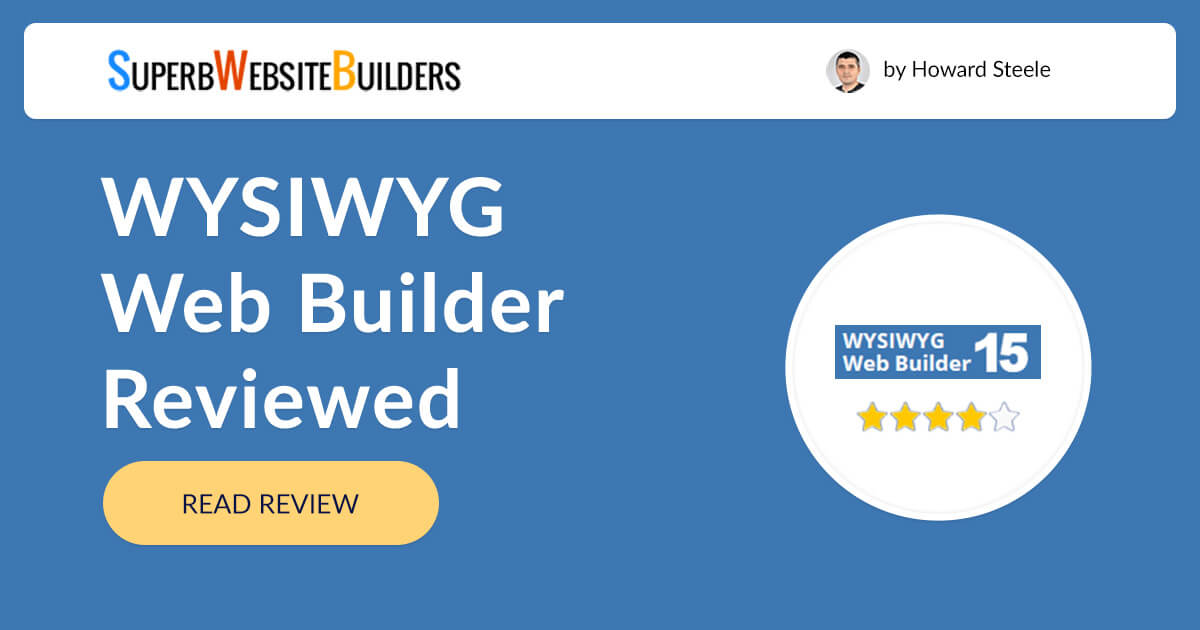 Wysiwyg Web Builder Review Discover All The Features Pros Cons