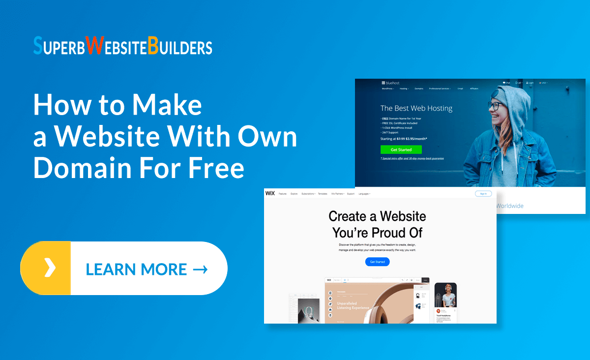 create your own website for free with free domain