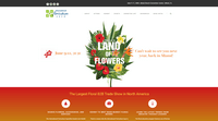 International Floriculture Expo - WordPress event website example
