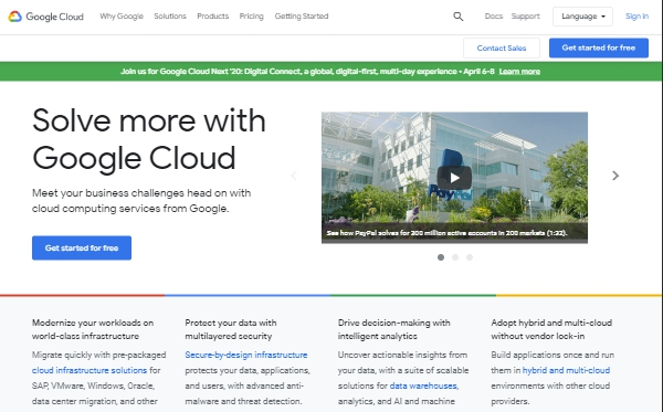 Google Cloud - The Best Platform for WordPress by Google