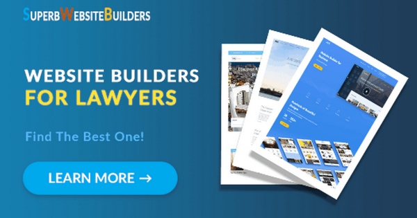 Best Website Builders for Lawyers