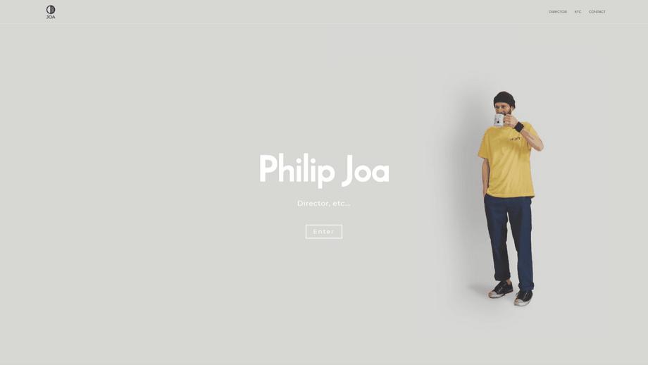 Director Portfolio website