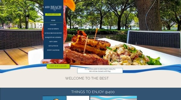 400 Beach Seafood