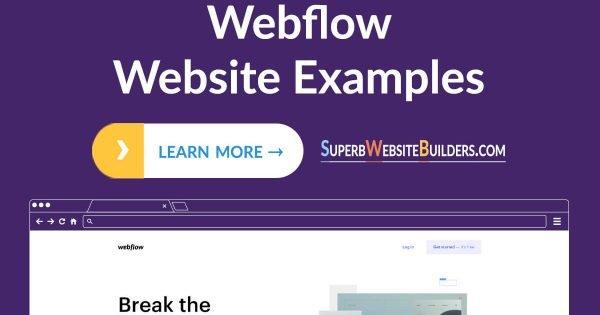 Best Webflow Website Examples