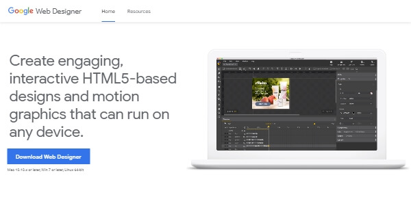 Google Web Designer - Program for Windows, Mac, and Linux