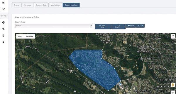 Listingvillage adding custom location