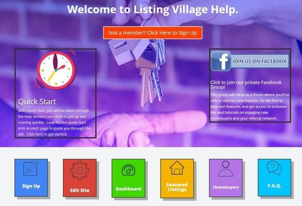 Listingvillage customer support