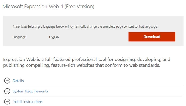 Microsoft Expression Web - Full-featured Professional Tool